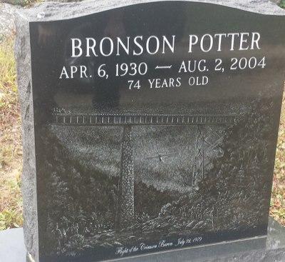 Bronson Potters grave