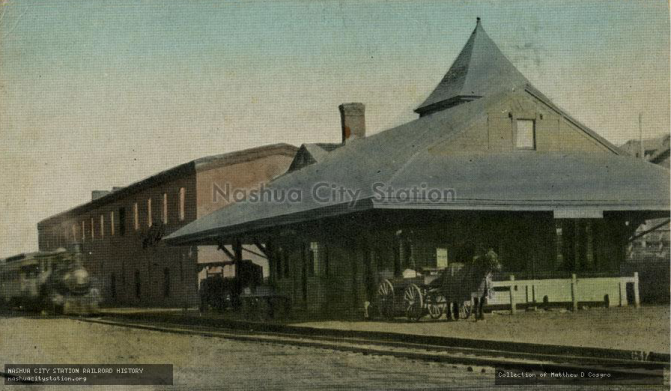 Greenville, Nh Depot