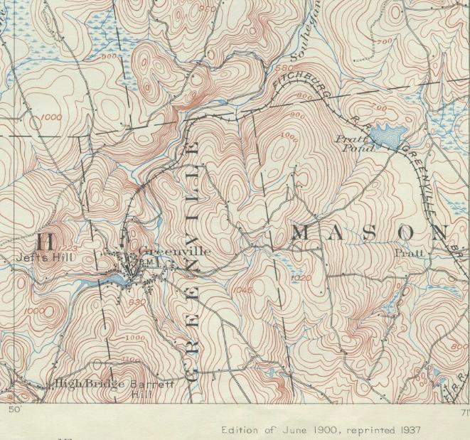 Greenville, USGS, 1900