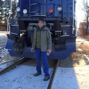 Tim and a GP40